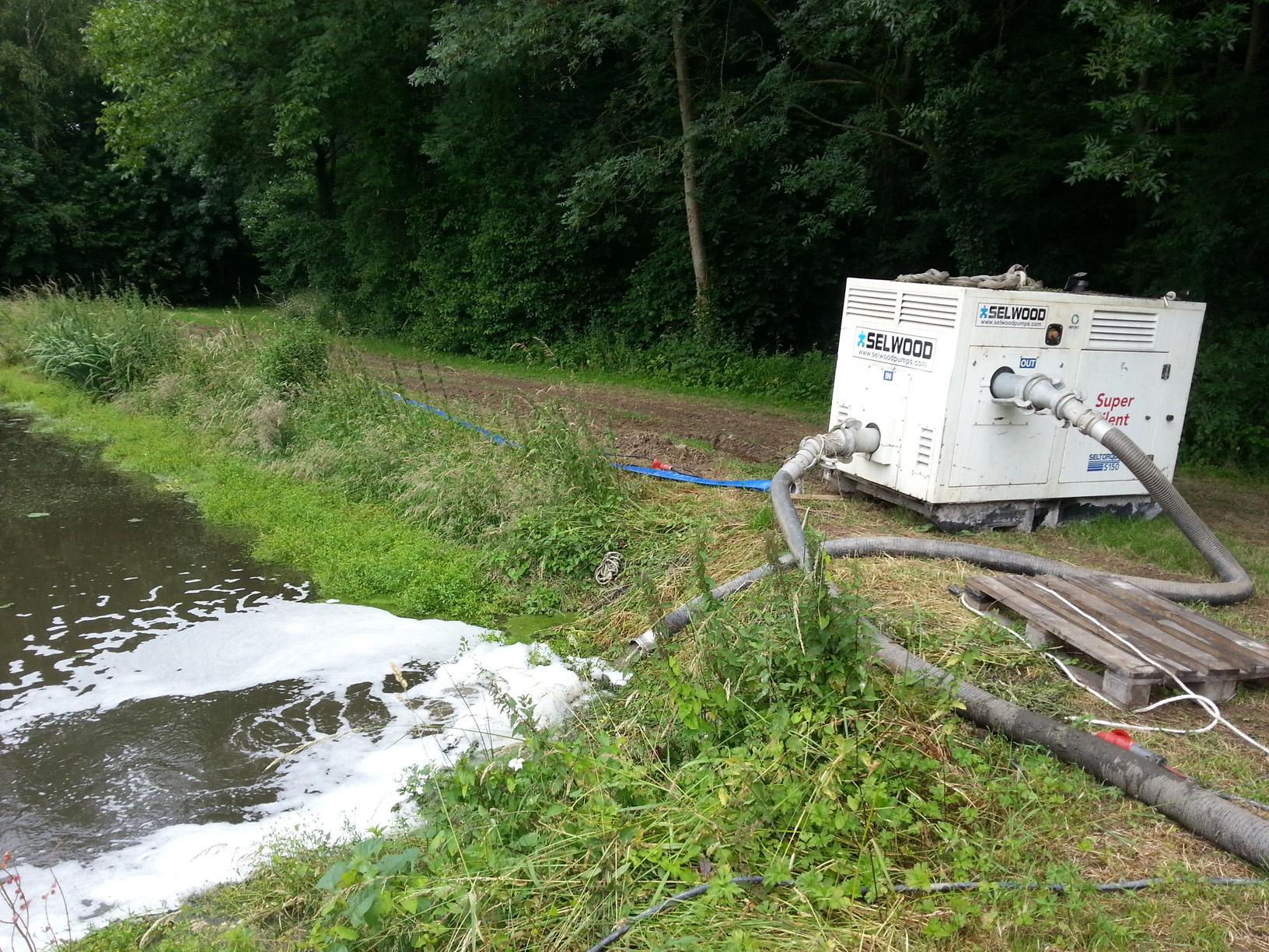 Semeo déshydratation mobile boues location pompe à boue